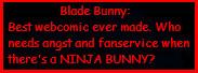 Blade Bunny FTW by kuri-sanFalcon