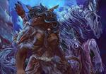 Tauren and her dead horse