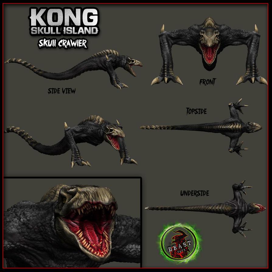Kong Skull Island Skull Crawler 3d model by joshuasmith85 ...
