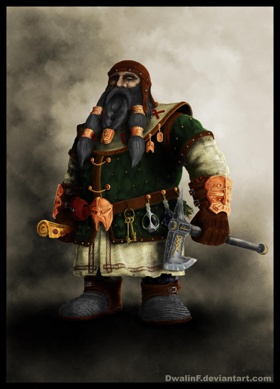 Dwarf Healer by DwalinF