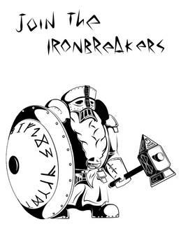 The Ironbreaker. Warhammer FB