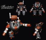 LEGO.Steam battlesuit GNOMEREGAN-1