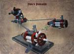 LEGO. Frol's steam podracer.