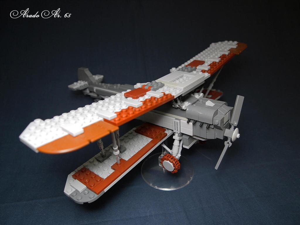 LEGO. Plane Arado 65 by DwalinF