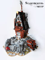 LEGO. Starcounter's Keep. by DwalinF