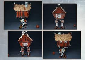 LEGO. Hut on chicken legs by DwalinF