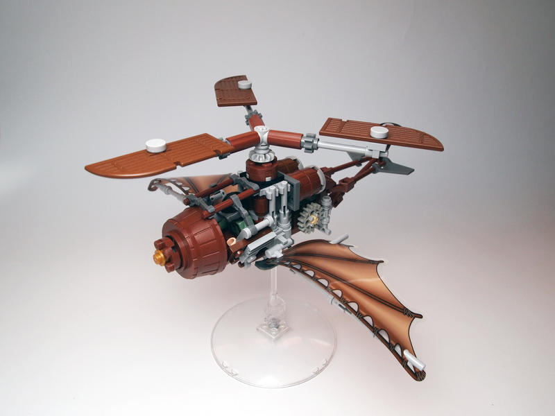 LEGO. Gyrocopter 1 by DwalinF