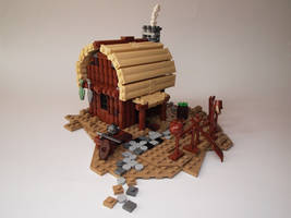 LEGO. Viking's House by DwalinF