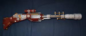 LEGO. Steampunk rifle