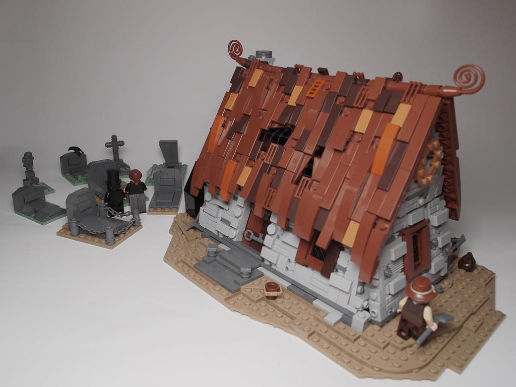 Lego Medieval House fantasy and medieval architecture - lego historic themes