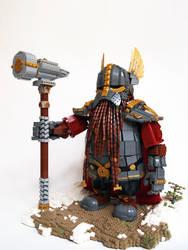 LEGO. Dwarf Thane Rori Dulgisson from Karak Zorn by DwalinF