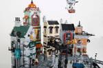 LEGO. Steampunk Moon City