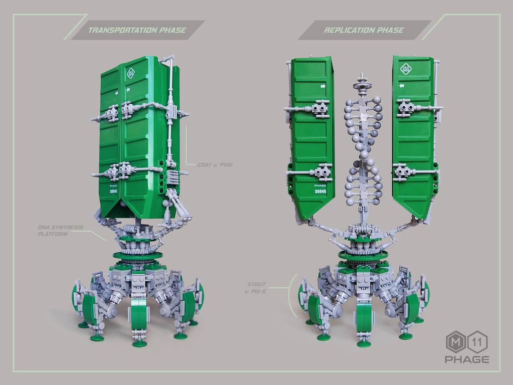 LEGO. Heavy Transport M11 Phage by DwalinF