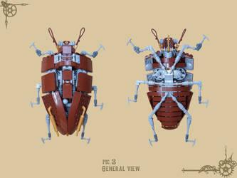 LEGO IDEAS Project - Steampunk Beetle