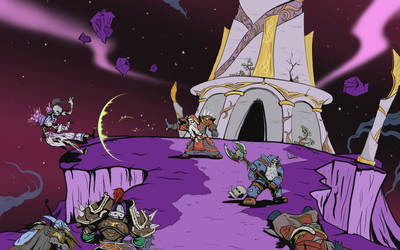 Battle at Blood Elf Tower