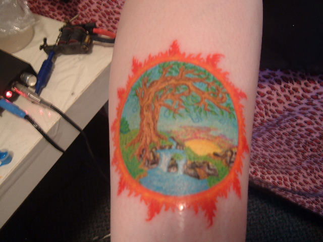 Four elements tattoo by dollcrazycats on deviantart for Four elements tattoo