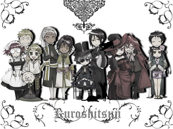 Kuroshitsuji Wallpaper By Azimoon