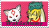 Waka and Ammy Stamp by DreamerPony