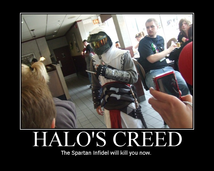 ITT: We post images of epic/stupid/disturbing Game/Manga/Anime images. - Page 5 Halo__s_Creed_by_scottishghost55