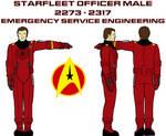 Starfleet Emergency Services Uniform Officer Male
