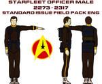 Field Pack Male Officer Engineering
