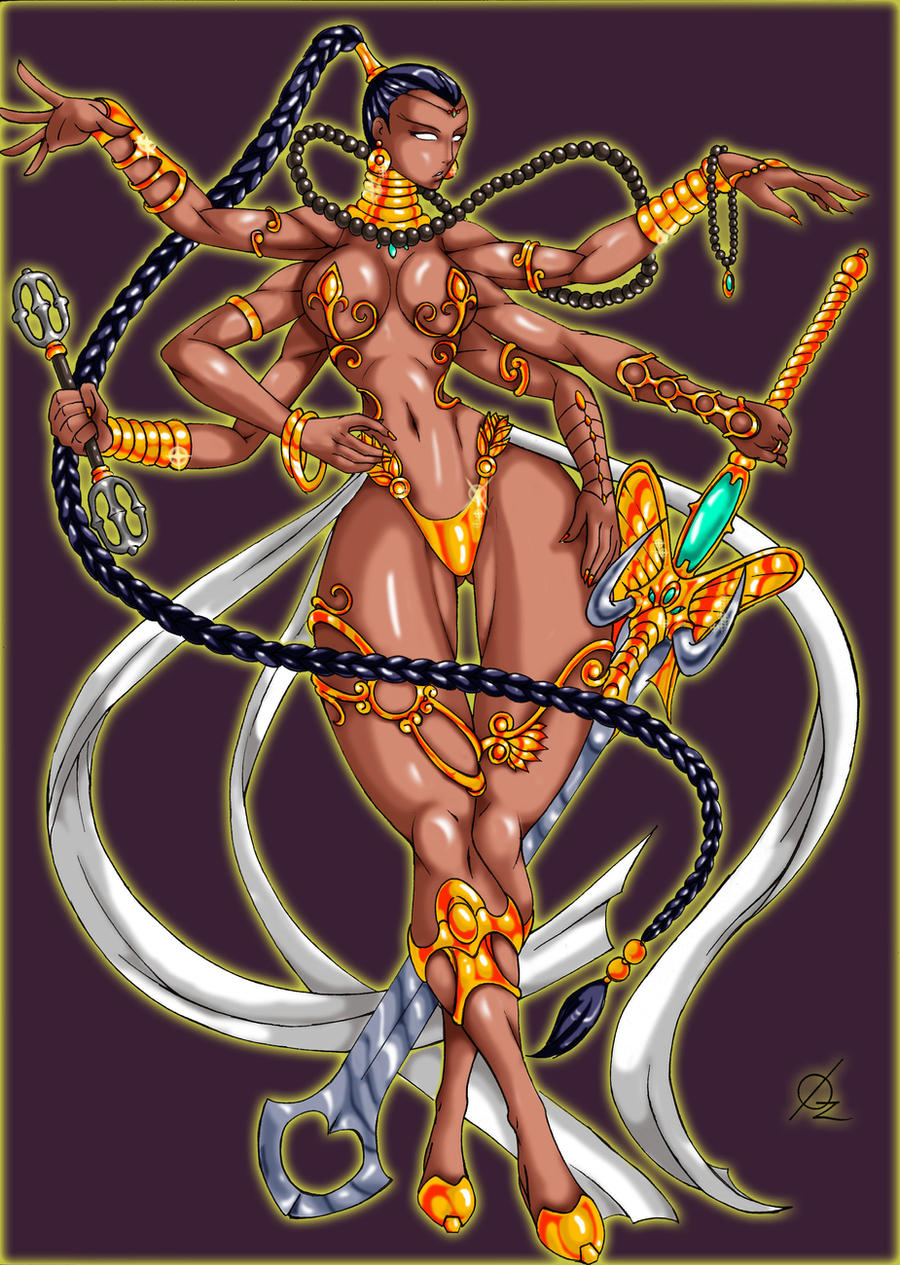 Vishnu by Osmar-Shotgun