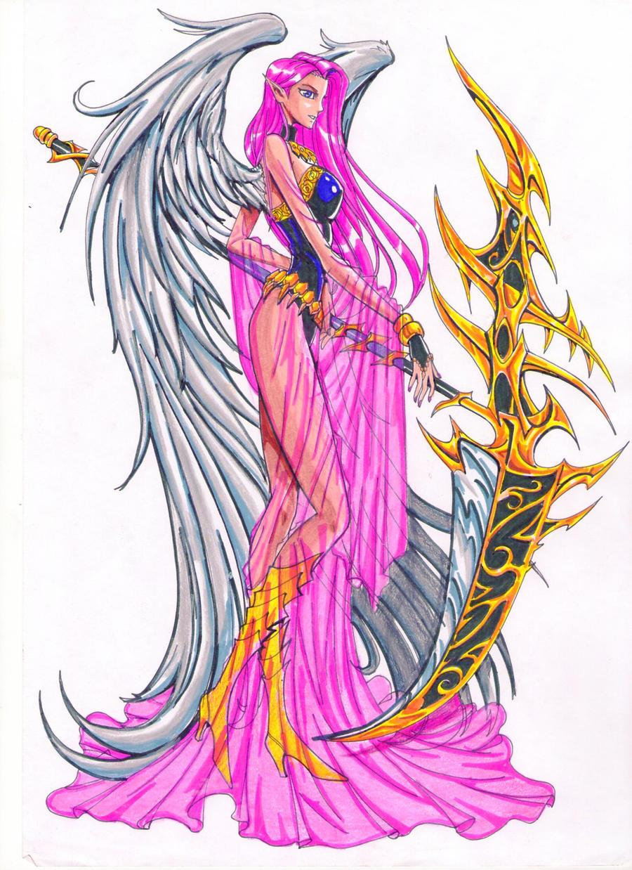 Angel Warrior By Osmar Shotgun