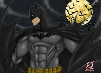 Batman the dark knight by Osmar-Shotgun