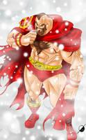 I Am The Red Cyclone by Osmar-Shotgun