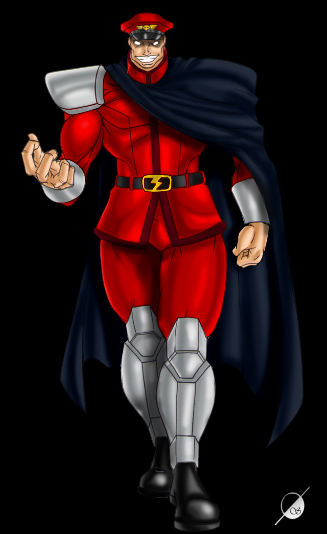 M.Bison by Osmar-Shotgun