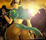 Chun li Sunset