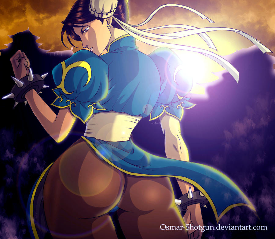 Chun li version 2 by Osmar-Shotgun