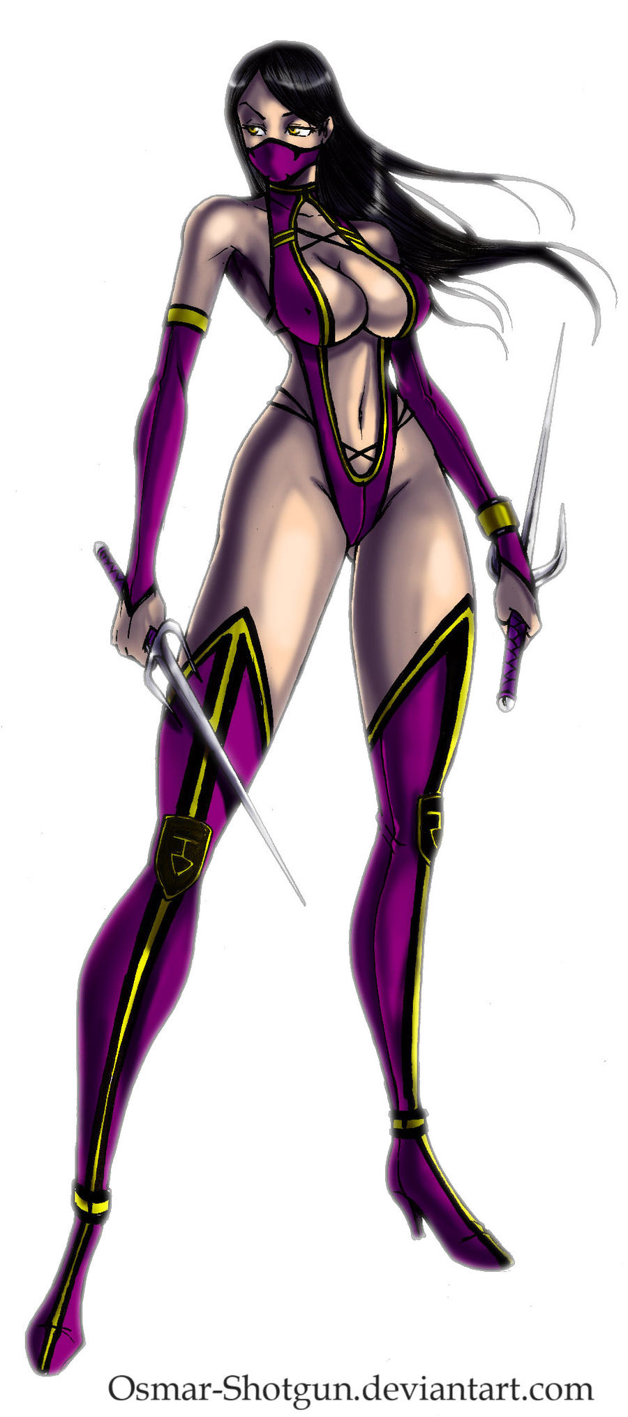 Mileena by Osmar-Shotgun