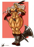 Commission: Amazon Dragons Crown