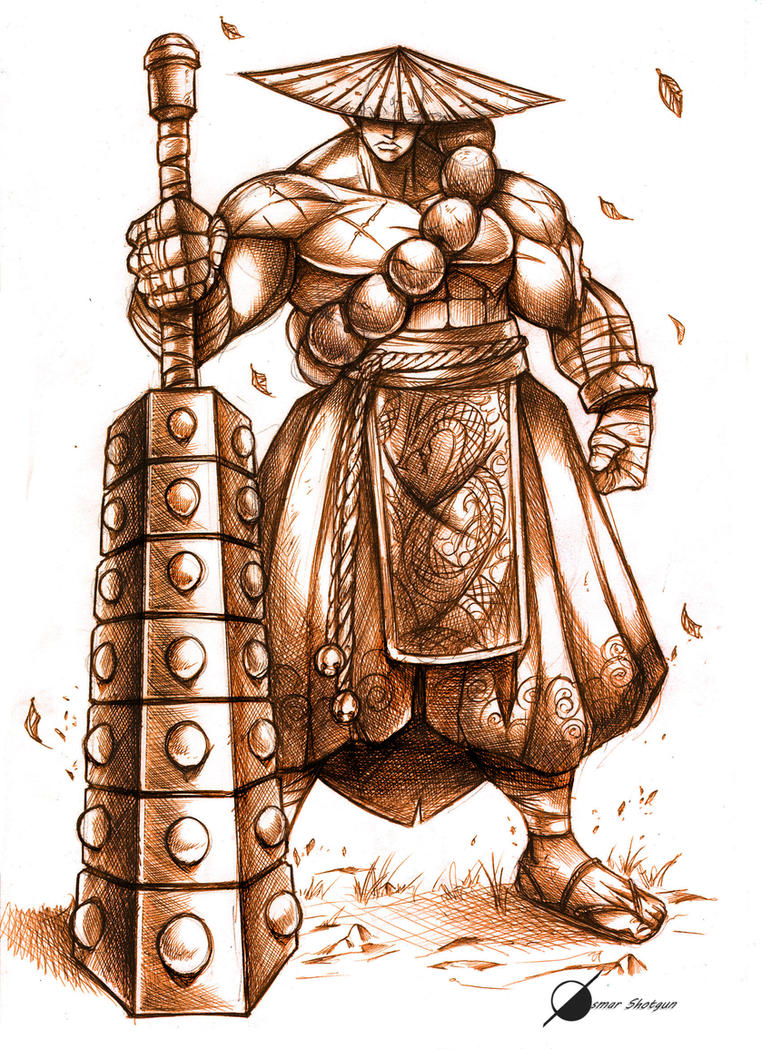 Monk by Osmar-Shotgun