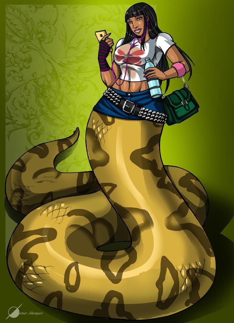 Commission: Nikki Minaj? by Osmar-Shotgun