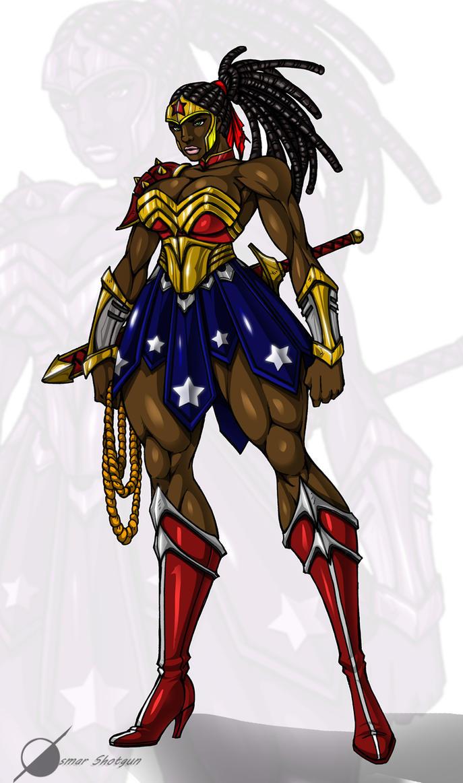 Wonder Woman by Osmar-Shotgun