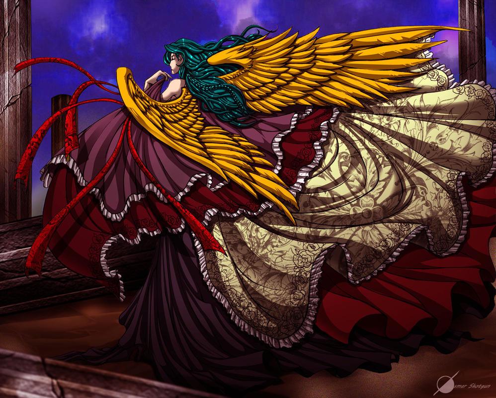 Angel by Osmar-Shotgun