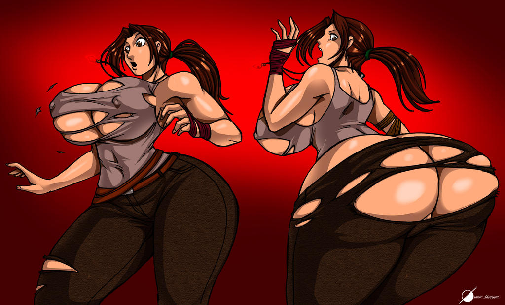 Commission:Lara Croft Expansion by Osmar-Shotgun