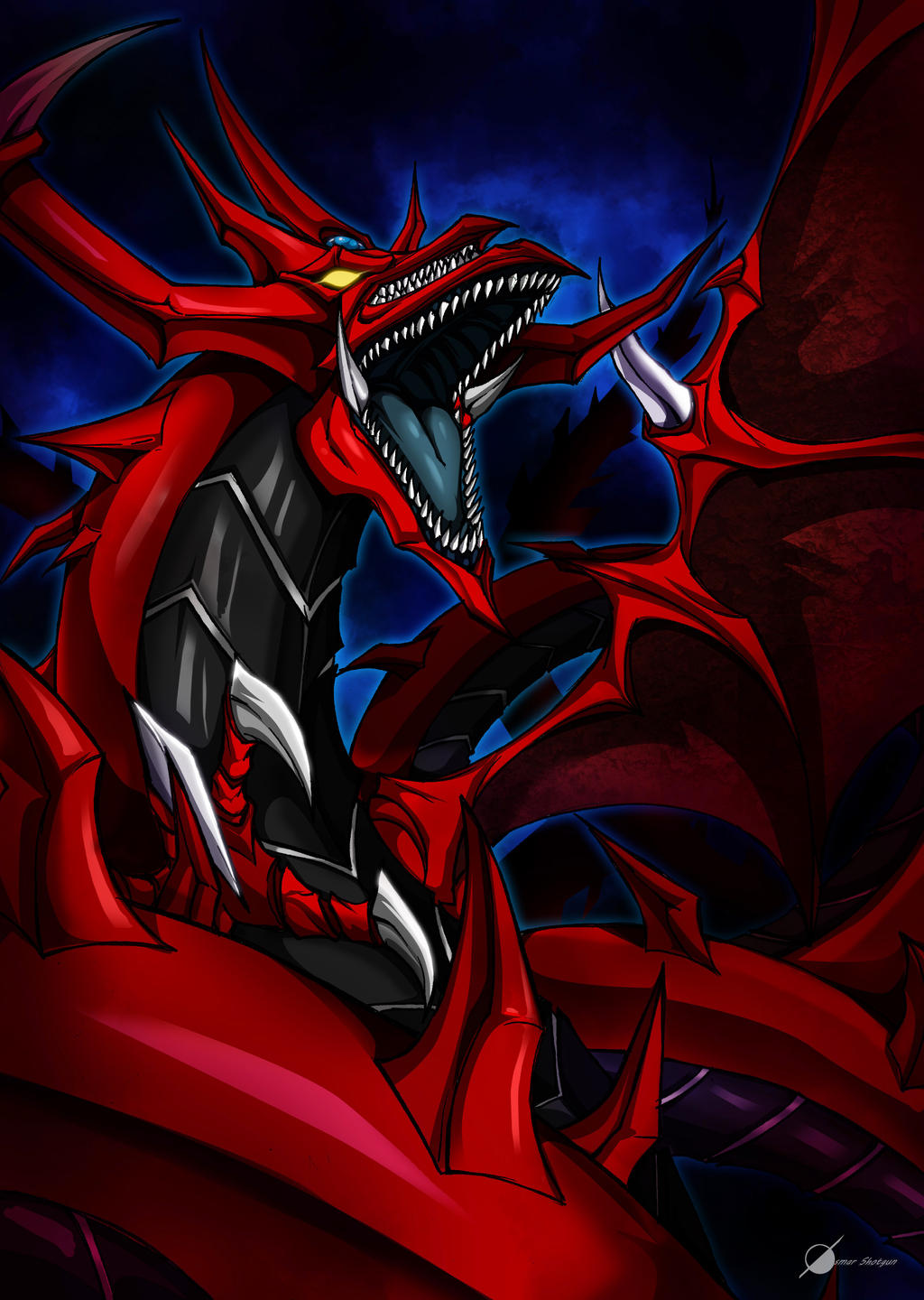 commission slifer the sky dragon by osmar shotgun d8v8h6o jpg