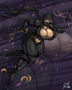 Patreon Reward: Busty Ninja