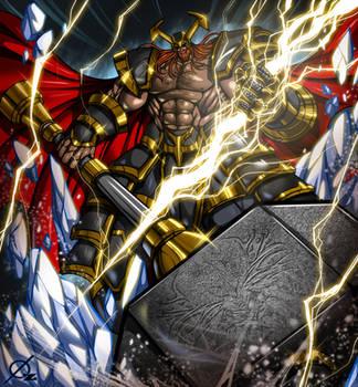 Thor by Osmar-Shotgun