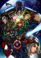 Avengers Infinity War by Osmar-Shotgun