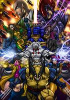 Classic X-men by Osmar-Shotgun