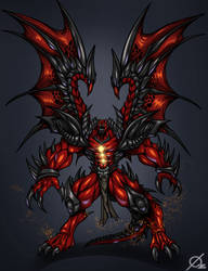 Patreon Reward: Demon King by Osmar-Shotgun