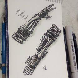 Prosthetic Arm by Osmar-Shotgun