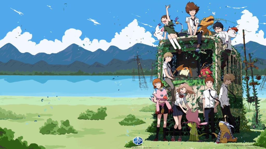 Digimon Adventure Tri Train Wallpaper by DrRoflcopter on DeviantArt