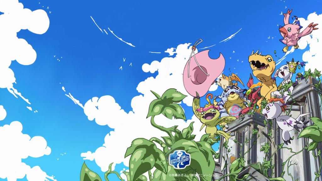 Digimon Adventure Tri Digimon Wallpaper by DrRoflcopter on DeviantArt