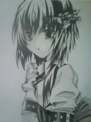 Anime Girl by SacredOwl132