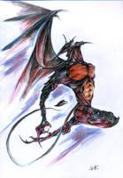 Los Diablos Volar by TheCoffeeBaron